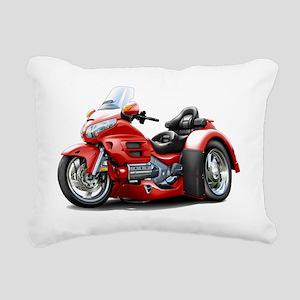 Goldwing GL1800 Red Trik Rectangular Canvas Pillow