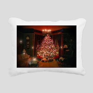 2010xmascard Rectangular Canvas Pillow