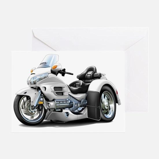 Goldwing GL1800 White Trike Greeting Card
