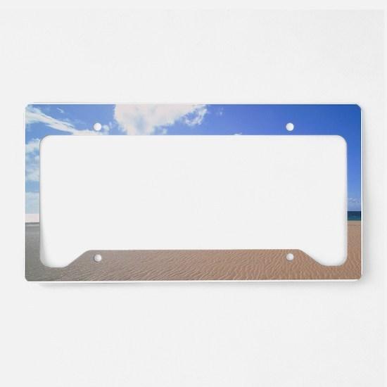 Papohaku Beach Molokai Hawaii License Plate Holder