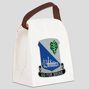 442nd Infantry Regiment Canvas Lunch Bag