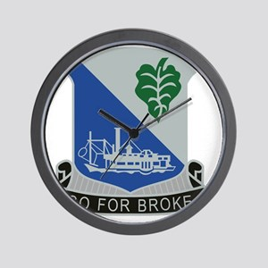 442nd Infantry Regiment Wall Clock