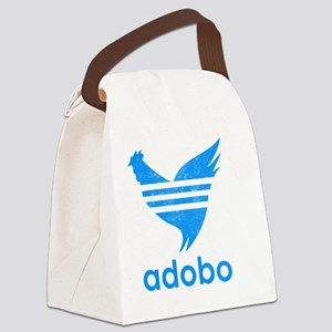 adob-blu Canvas Lunch Bag