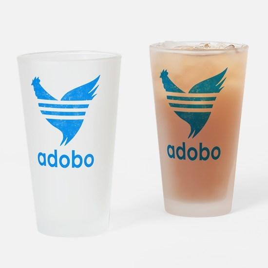 adob-blu Drinking Glass