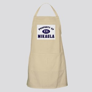 Property of mikaela BBQ Apron