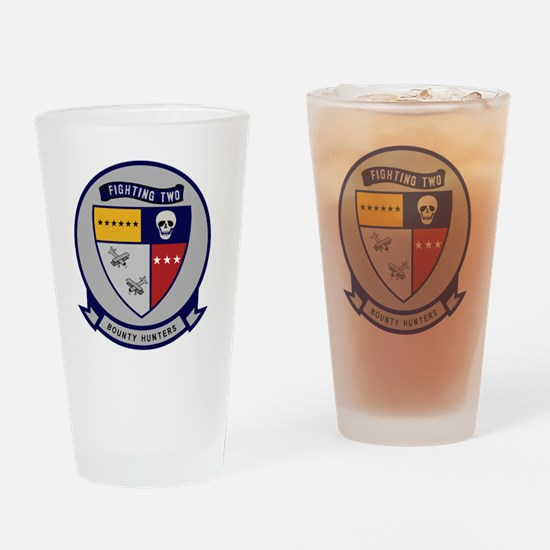 VF-2 Bounty Hunters Drinking Glass