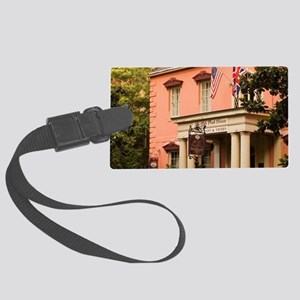 Savannah. The Pink House in the  Large Luggage Tag