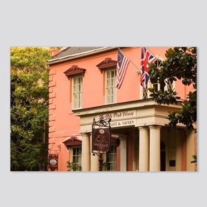 Savannah. The Pink House  Postcards (Package of 8)