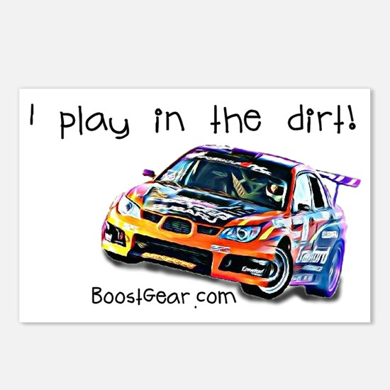 drift drawing light Postcards (Package of 8)