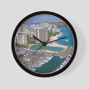 Ala Wai Yacht HarborWaikiki Beach, Waik Wall Clock