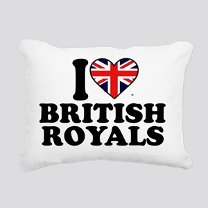 iheartbritishroyals Rectangular Canvas Pillow