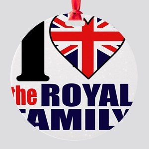 ihearttheroyalfamily Round Ornament