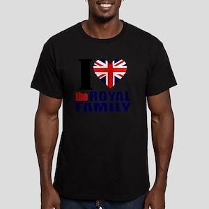 ihearttheroyalfamily Men's Fitted T-Shirt (dark)