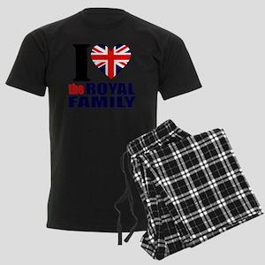 ihearttheroyalfamily Men's Dark Pajamas