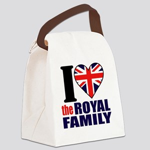 ihearttheroyalfamily Canvas Lunch Bag