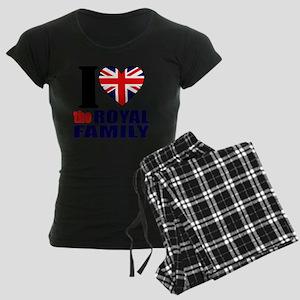 ihearttheroyalfamily Women's Dark Pajamas