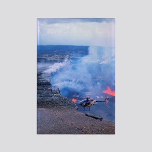 Hawaii Volcanoes National Park Rectangle Magnet
