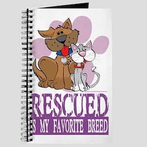 Rescued-Is-My-Favorite-Breed Journal