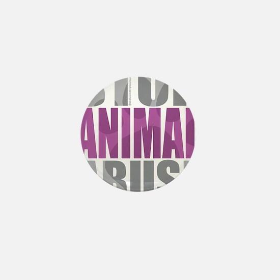 Stop-Animal-Abuse-2010-blk Mini Button