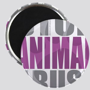 Stop-Animal-Abuse-2010-blk Magnet