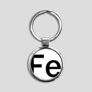 iron-man-fe-frank-goth copy Round Keychain