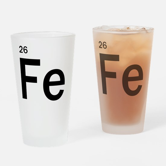 iron-man-fe-frank-goth copy Drinking Glass