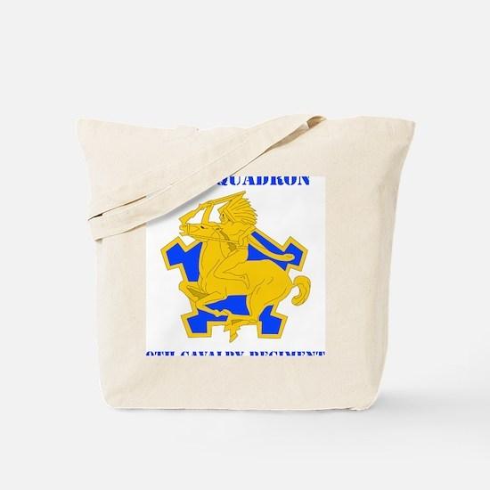 1-9TH CAV RGT Tote Bag