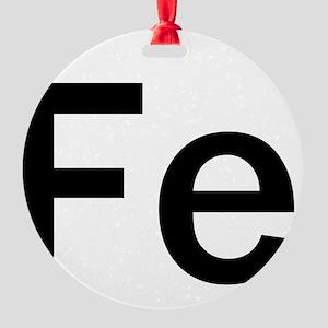iron-man-fe-frank-goth copy Round Ornament