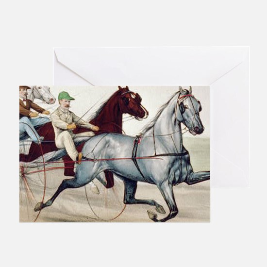 harnessracingsq Greeting Card