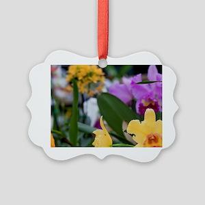 Orchid, Haiku Maui Orchids, Haiku Picture Ornament
