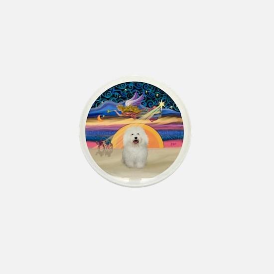 Xmas Star - Bolognese Mini Button