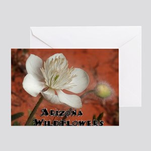Sedona Arizona Wildflowers Greeting Card