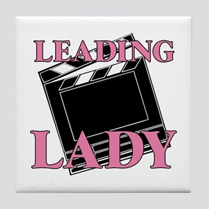 Leading Lady Actor Actress Drama Tile Coaster