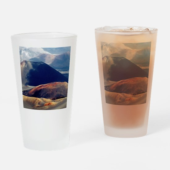 Haleakala Crater Maui Hawaii from t Drinking Glass