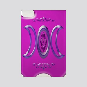 goddess bloom magenta i phone 4 s Rectangle Magnet