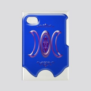 goddess bloom blue i phone 4 slid Rectangle Magnet