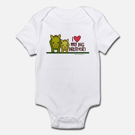 Big Brother Rhino Infant Bodysuit