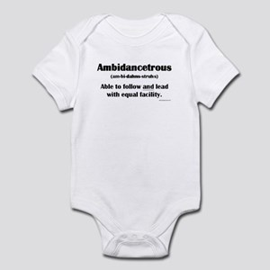 Ambidancetrous Infant Bodysuit