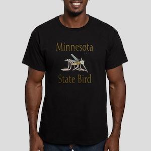 Minnesota State Bird c Men's Fitted T-Shirt (dark)