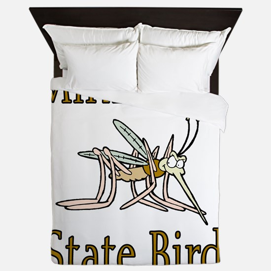 Minnesota State Bird copy Queen Duvet