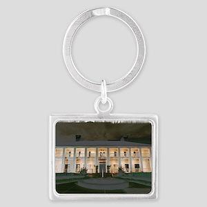 MSU Kappa Delta House Landscape Keychain