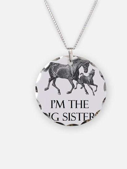 1bigsisterhorse_15 Necklace