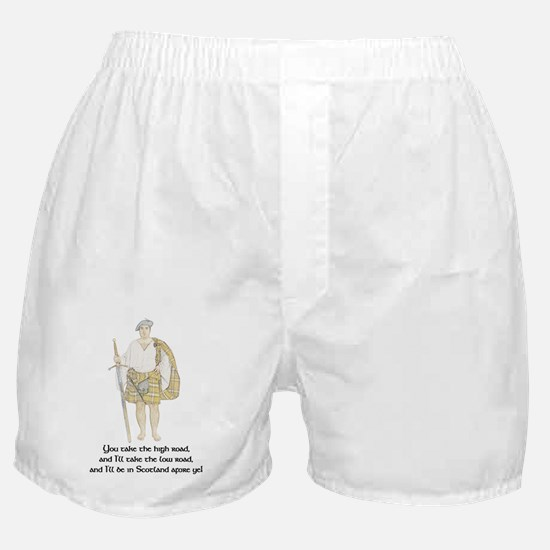 low-road001b Boxer Shorts