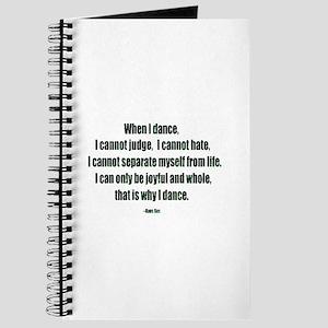 Why I Dance Journal