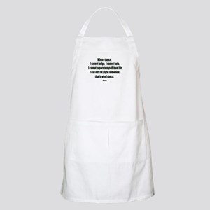 Why I Dance BBQ Apron