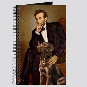 MP-Lincoln - Chocolate Labrador 11-c Journal