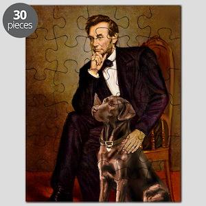MP-Lincoln - Chocolate Labrador 11-c Puzzle
