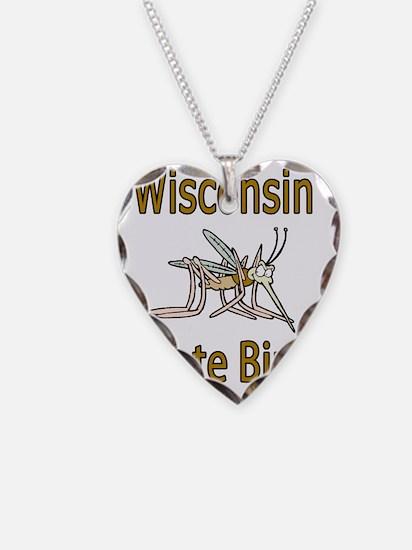 Wisconsin State Bird Necklace