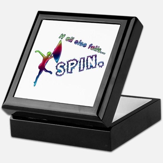 If all else fails... SPIN. Keepsake Box