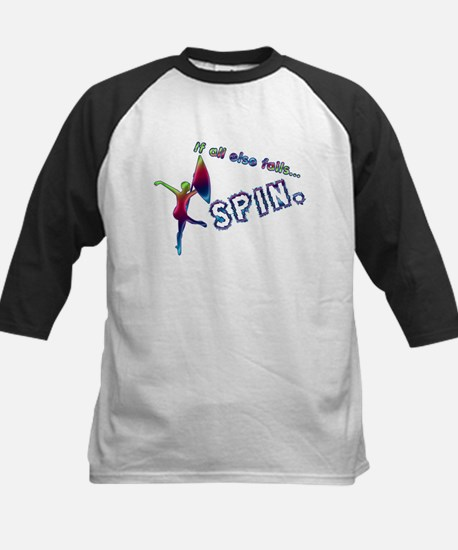 If all else fails... SPIN. Kids Baseball Jersey
